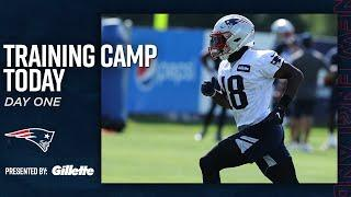 Training Camp Today: Breaking Down Day 1 of Patriots Training Camp