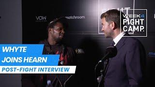 """""""Can we get the rematch in December?"""" - Dillian Whyte joins Eddie Hearn after Povetkin defeat"""