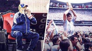 The reason why Maradona is the most iconic player ever   Oh My Goal