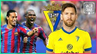 How Leo Messi almost ended up in Cadiz because of Ronaldinho and Eto'o | Oh My Goal