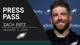 """Zach Ertz Talks the """"Heightened Urgency"""" of Training Camp & More   Eagles Press Pass"""