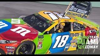 Kyle Busch burns it down championship style | NASCAR at Homestead-Miami Speedway