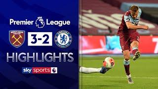 Yarmolenko scores dramatic counter-attack winner | West Ham 3-2 Chelsea | Premier League Highlights