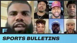 "OBJ, Saquon Barkley, Ezekiel Elliot, Patrick Mahomes & CALL OUT NFL ""We Will Not Be Silenced"""