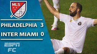 Gonzalo Higuain MISSES A PENALTY in his debut as Inter Miami loses 3-0 | ESPN FC MLS Highlights