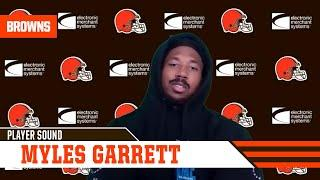 """Myles Garrett: """"I want to be the best player on the field""""   Cleveland Browns"""