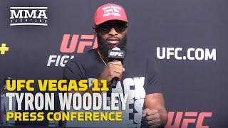 UFC Vegas 11: Tyron Woodley Answers All Questions With Black Lives Matter - MMA Fighting