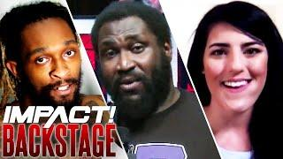 Tessa CALLS OUT Elgin, Mack's NEW CHALLENGER, Chris Bey FINESSES! | IMPACT Wrestling Backstage