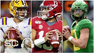 How will Joe Burrow, Tua Tagovailoa and Justin Herbert fare in the NFL? | SC with SVP