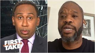 Antonio Davis & Stephen A. discuss NBA stars speaking out & 2019-20 season restart | First Take