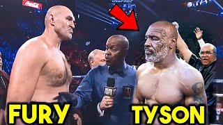 MIKE TYSON. vs TYSON FURY. FULL FIGHT SIMULATION HIGHLIGHTS *KNOCKOUT ALERT* UFC 4