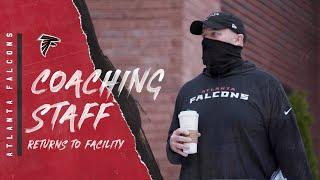 Coaching staff returns to Flowery Branch Facility