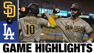 Padres bullpen shines in win over Dodgers | Padres-Dodgers Game Highlights 8/10/20
