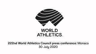 222nd World Athletics Council press conference (new time 5 PM)