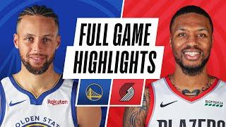 WARRIORS at TRAIL BLAZERS | FULL GAME HIGHLIGHTS | March 3, 2021