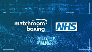 Matchroom Boxing donates tickets to NHS staff & their families