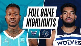 HORNETS at TIMBERWOLVES | FULL GAME HIGHLIGHTS | March 3, 2021