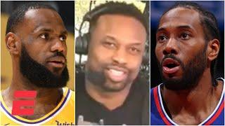 With LeBron out, the Clippers are the favorites in the West - Bart Scott | Bart & Hahn