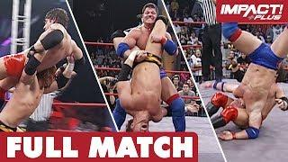 The Greatest Ultimate X Match of ALL TIME?! (Final Resolution 2005) | IMPACT Wrestling Full Matches