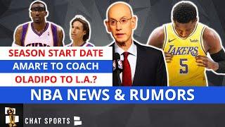 NBA News On 2020-21 Season & Amar'e Stoudemire To Coach Nets + NBA Rumors On A Victor Oladipo Trade