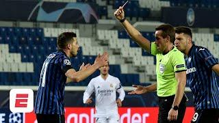 Ref 'used his instincts' on red-card call against Atalanta's Remo Freuler vs. Real Madrid | ESPN FC