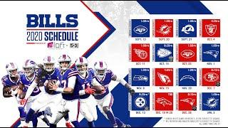 Bills Full 2020 Season Schedule Released!