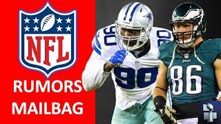 NFL Rumors Mailbag on Zach Ertz, DeMarcus Lawrence + Fire Ron Rivera? Best NFC West, AFC North Team?