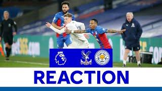 'We Had The Chances To Win' - Harvey Barnes | Crystal Palace 1 Leicester City 1