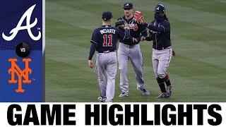 Marcell Ozuna sparks extra-inning comeback win | Braves-Mets Highlights 7/25/20