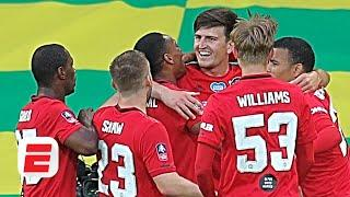 Manchester United 'fully deserved' win vs. Norwich City in the FA Cup – Jan Aage Fjortoft | ESPN FC