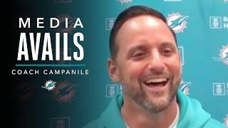 Anthony Campanile: To Communicate Well, Your Eyes Gotta Be Right | Miami Dolphins Media Avails
