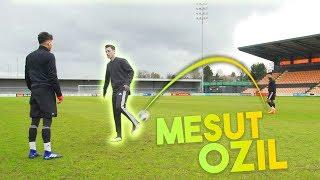 MESUT ÖZIL: CRAZY SKILLS, CROSSBAR AND MORE!