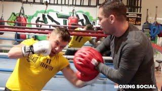 THREE WEIGHT WORLD CHAMP? CARL FRAMPTON SHOWS OFF SPEED AND MOVEMENT AHEAD OF JAMEL HERRING SHOWDOWN