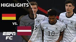Germany puts 7 past Latvia & Manuel Neuer reaches 100 caps for Die Mannschaft   Highlights   ESPN FC