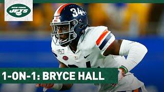 """Bryce Hall 1 On 1: I'm """"Soaking Up"""" Everything I Can From Gregg Williams   New York Jets   NFL"""