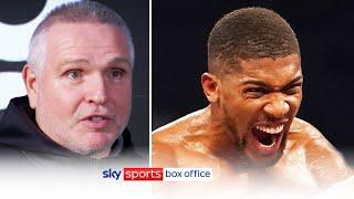 Peter Fury points out Anthony Joshua's weaknesses before potential fight with Tyson Fury