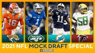 2021 NFL Mock Draft: Four QBs in Top 10, Eagles Add Playmaker | CBS Sports HQ
