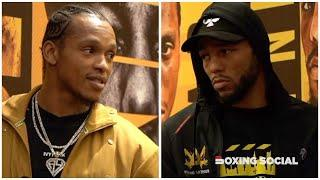 THE BEAST MEETS KING ARTHUR! ANTHONY YARDE & LYNDON ARTHUR FACE OFF AND FULL FINAL PRESS CONFERENCE