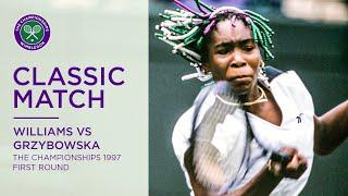 Venus Williams vs Magdalena Grzybowska | Wimbledon 1997 first round | Full Match