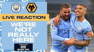 MAHREZ AND JESUS CLINCH ANOTHER 3 POINTS | FULL-TIME REACTION | MAN CITY 4-1  WOLVES