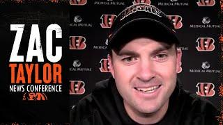 Zac Taylor Discusses QBs, New York Giants, & Thanksgiving Plans | Cincinnati Bengals