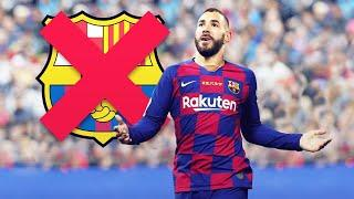 The ridiculous reason why Karim Benzema didn't sign for FC Barcelona | Oh My Goal