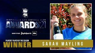 PA21 | Sarah Mayling scoops Players' Player of the Season