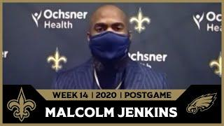 Malcolm Jenkins on Eagles Offense in Loss | Saints-Eagles Postgame | Week 14 2020