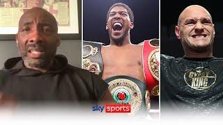 What are the options for Tyson Fury and Anthony Joshua now? | Johnny Nelson on Fury vs Joshua latest