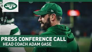 Adam Gase Press Conference Call (8/5)   New York Jets   NFL