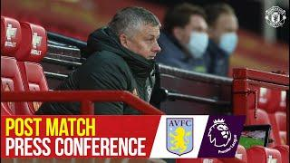 """""""Sometimes you just have to find a way to win""""   Manchester United 2-1 Aston Villa  Press Conference"""