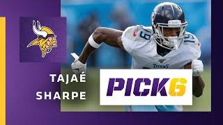 Pick 6 Mailbag Featuring Paul Allen: Tajaé Sharpe's Fit with the Minnesota Vikings Offense and More