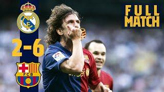 FULL MATCH: Real Madrid 2 - 6 Barça (2009) THE LEGENDARY 2-6 IN #ELCLÁSICO!