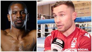 """I'VE GOT THE POWER TO STOP HERRING!"" CARL FRAMPTON BREAKS DOWN JAMEL HERRING FIGHT, SIZE DIFFERENCE"
